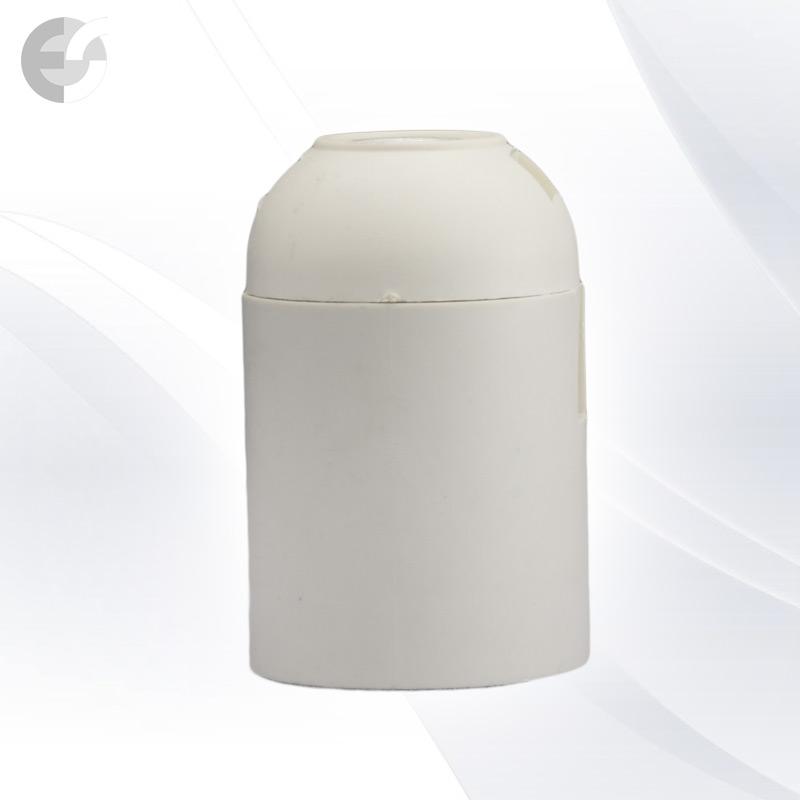 Soclu alb Cap E27 E27H/MPC/WH