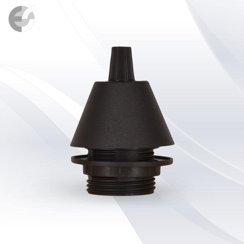 Конус PVC за пендел към фасунга черен От Електро Стил ООД