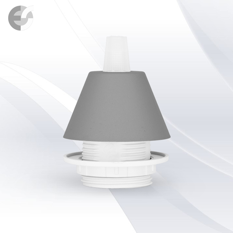 Конус PVC за пендел към фасунга сив От Електро Стил ООД