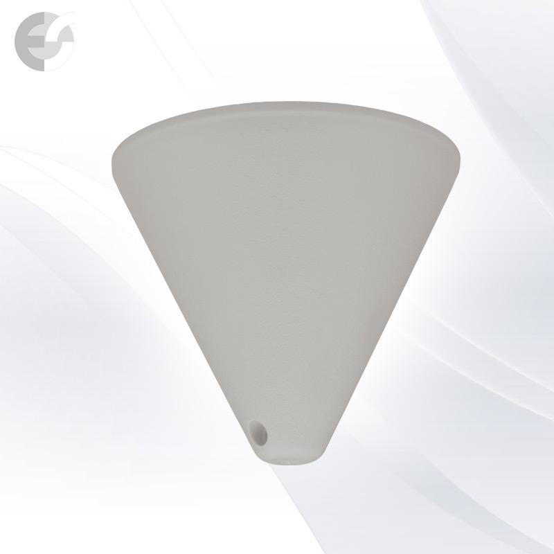 PVC конус за пендел към таван сив(0701GY)
