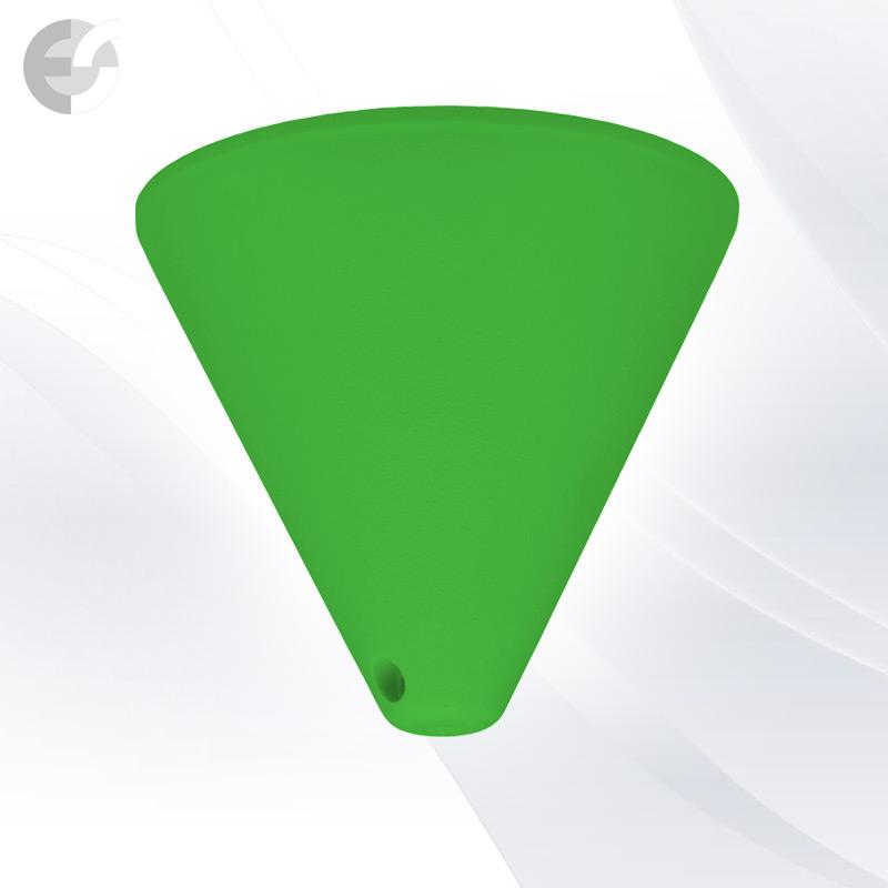 Конус PVC за пендел към таван зелен От Електро Стил ООД