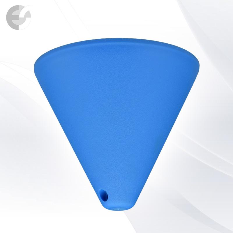 Конус PVC за пендел към таван син(0701BL)
