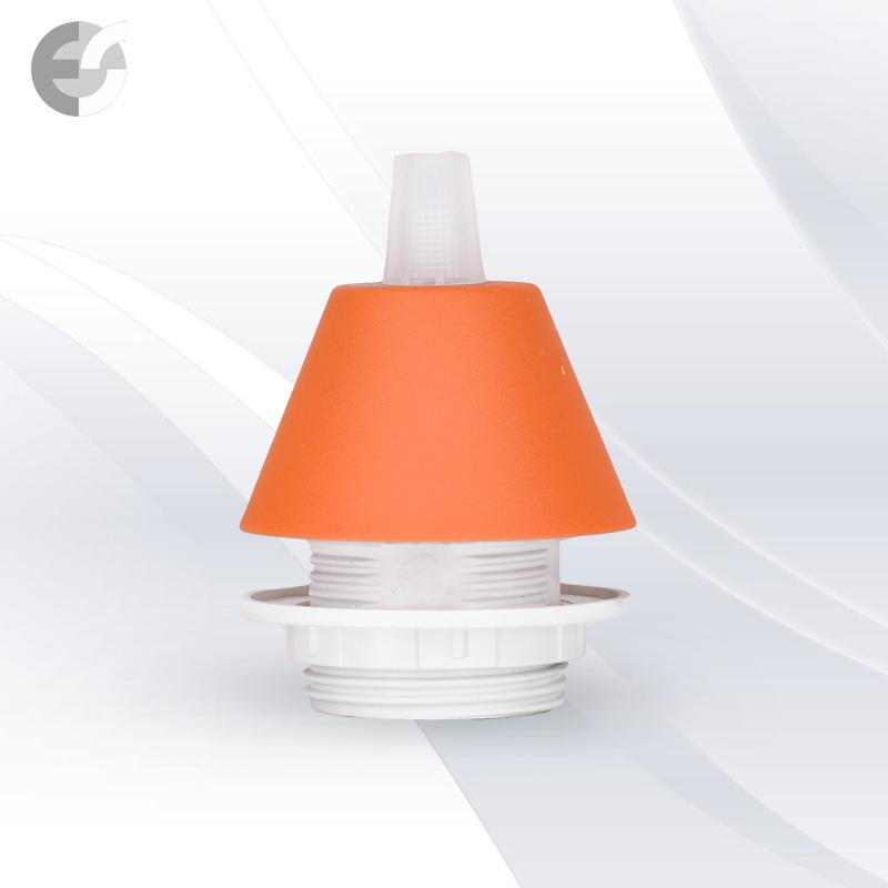 Конус PVC за пендел към фасунга оранжав От Електро Стил ООД