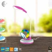 Настолна LED лампа KEIKO розова От Електро Стил ООД