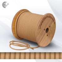 Текстилен кабел капучино 2х0.75 От Електро Стил ООД