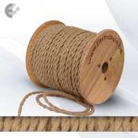 Текстилен кабел коноп тънък От Електро Стил ООД