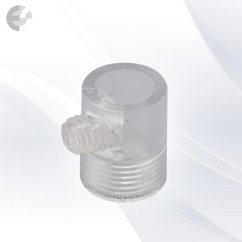 Стопер за кабел проходен с винт прозрачен(30107)