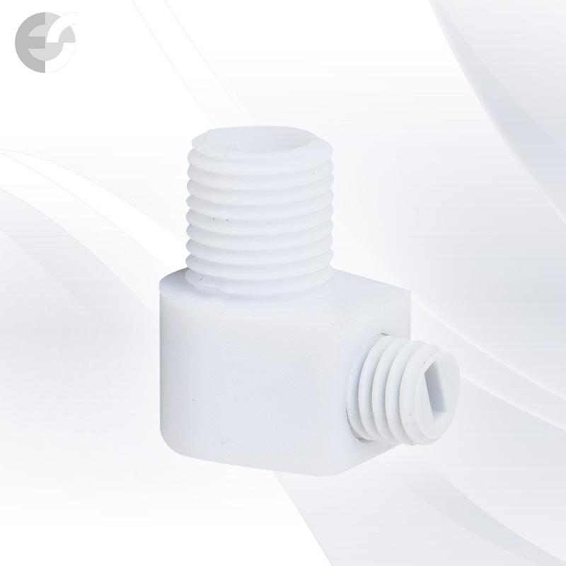 Стопер за кабел проходен + винт бял(31100)