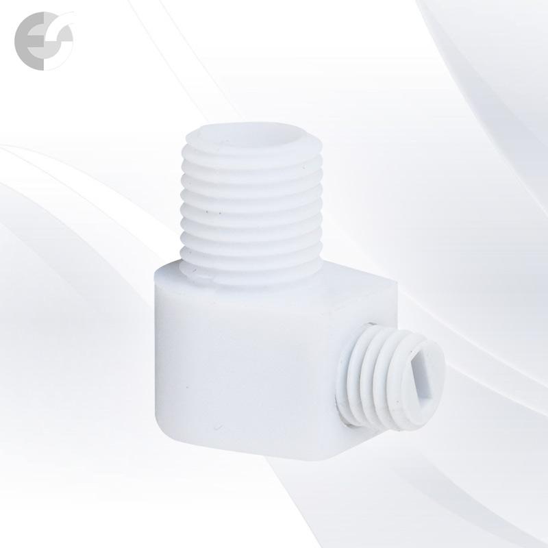 Стопер за кабел проходен + винт бял От Електро Стил ООД