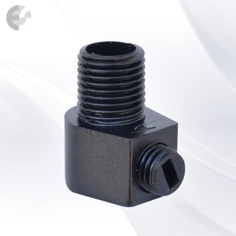 Стопер за кабел проходен + винт черен(31114)