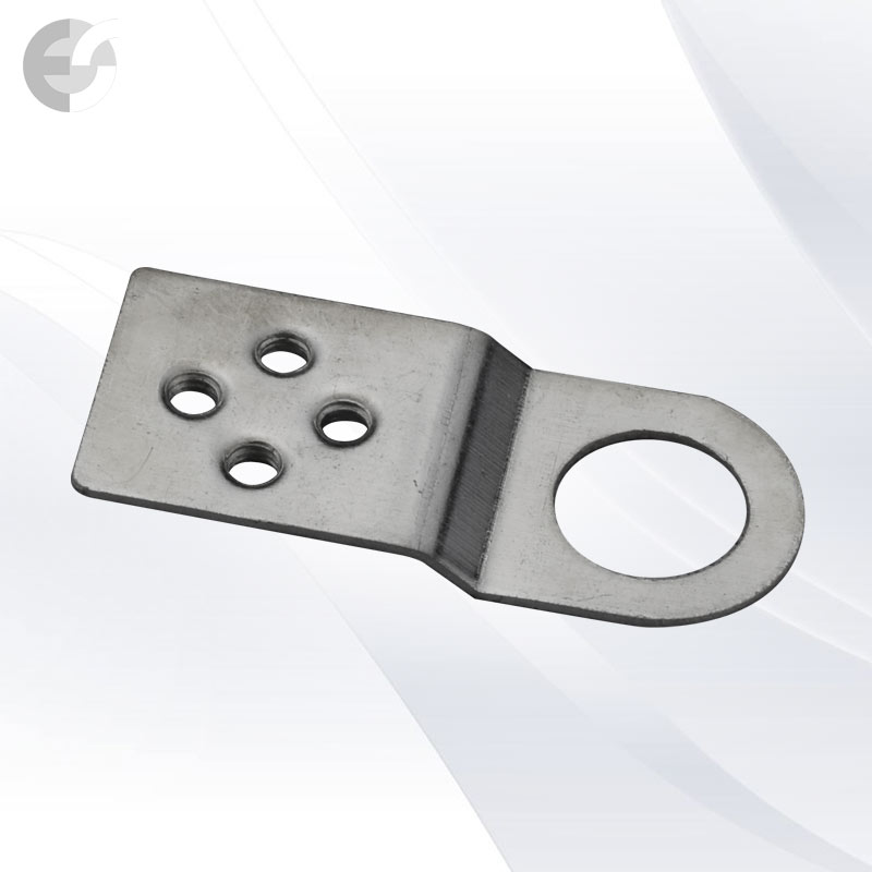 Метална планка за лустър клема с отвор(0000003099)