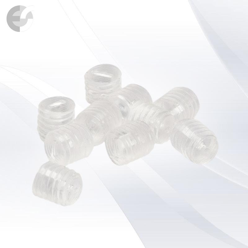 PVC винт 6x6mm прозрачен(0607-6x6)