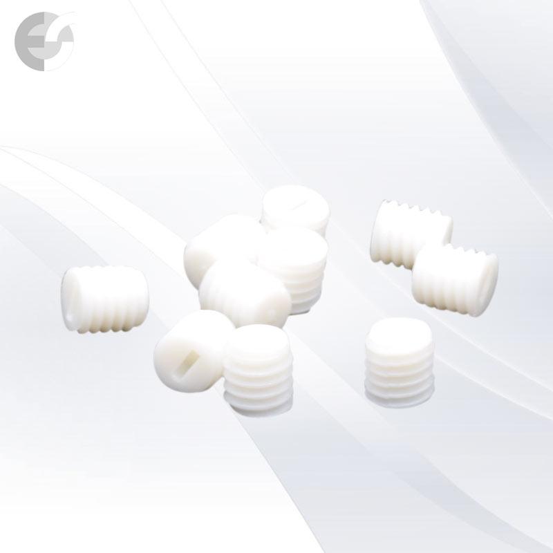Бял PVC винт 6x6mm От Електро Стил ООД