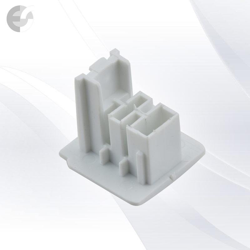 End cap за 4-линейна шина бяла(3L04HEC-WH)