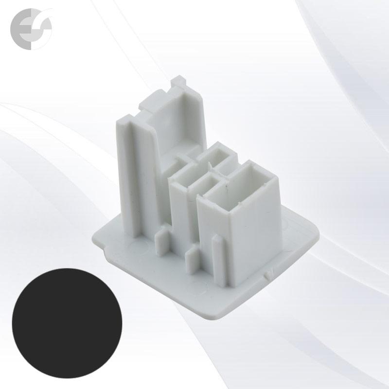 End cap за 4-линейна шина черна От Електро Стил ООД