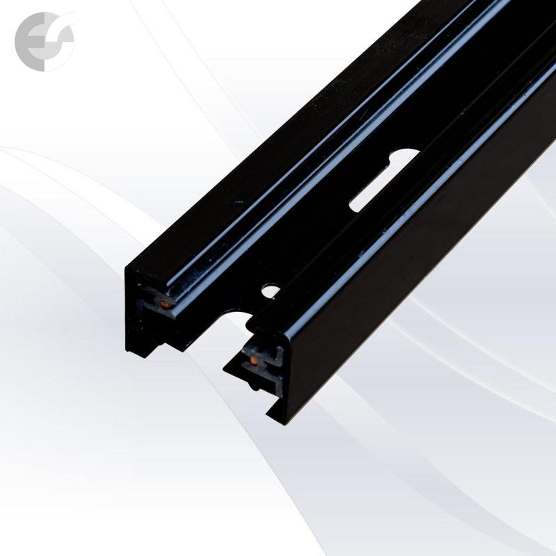 Тоководеща 2-линейна шина 1м Track System(2L1M-BK)