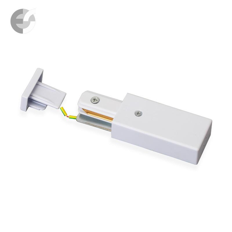 Захранване 2-линейна шина + end бяла От Електро Стил ООД