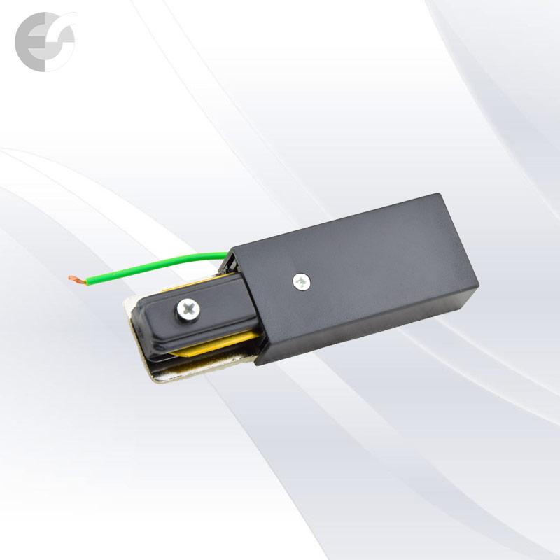 Захранване 2-линейна шина+end черна От Електро Стил ООД