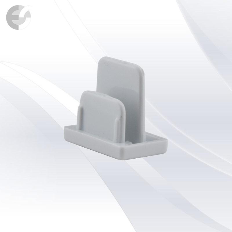 End cap за тоководеща 2-линейна шина бяла(2LEND-WH)