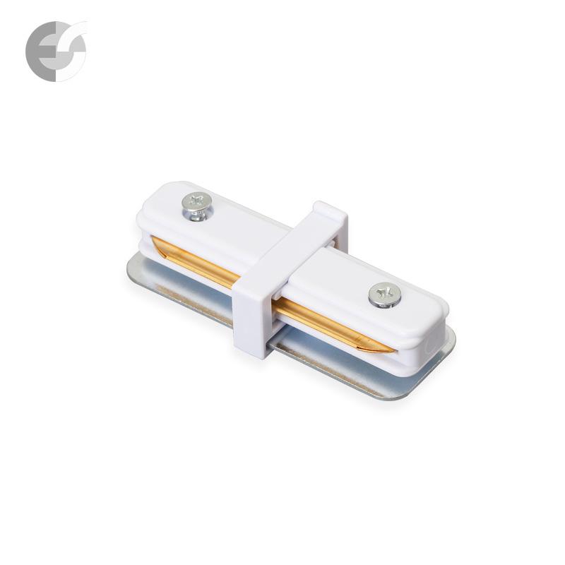 Линеен конекторен елемент за 2-линейна шина бяла От Електро Стил ООД