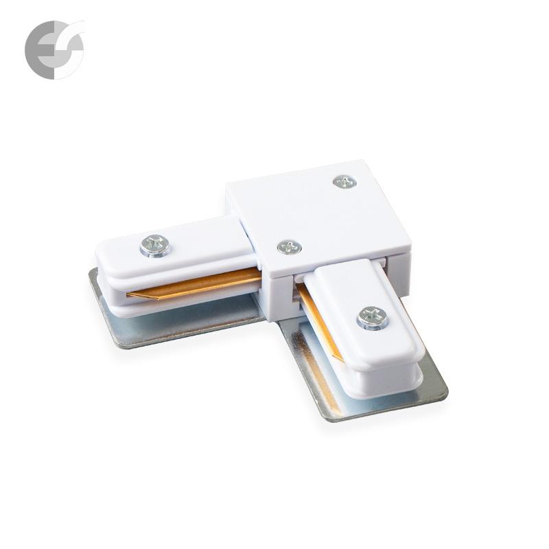 Ъглов конекторен елемент за 2-линейна шина бяла От Електро Стил ООД