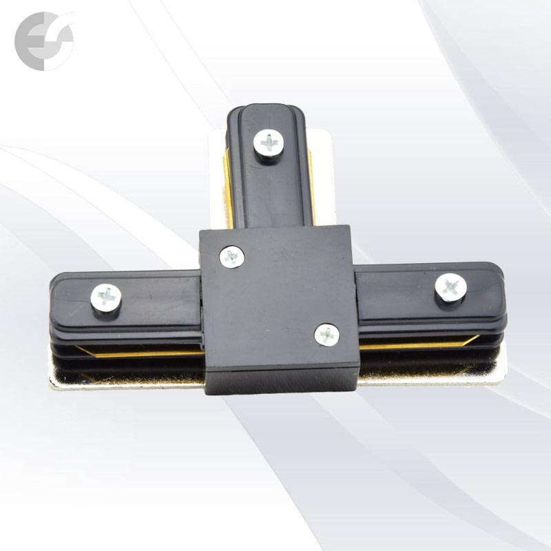 Трипътен конекторен елемент за 2-линейна шина черна От Електро Стил ООД