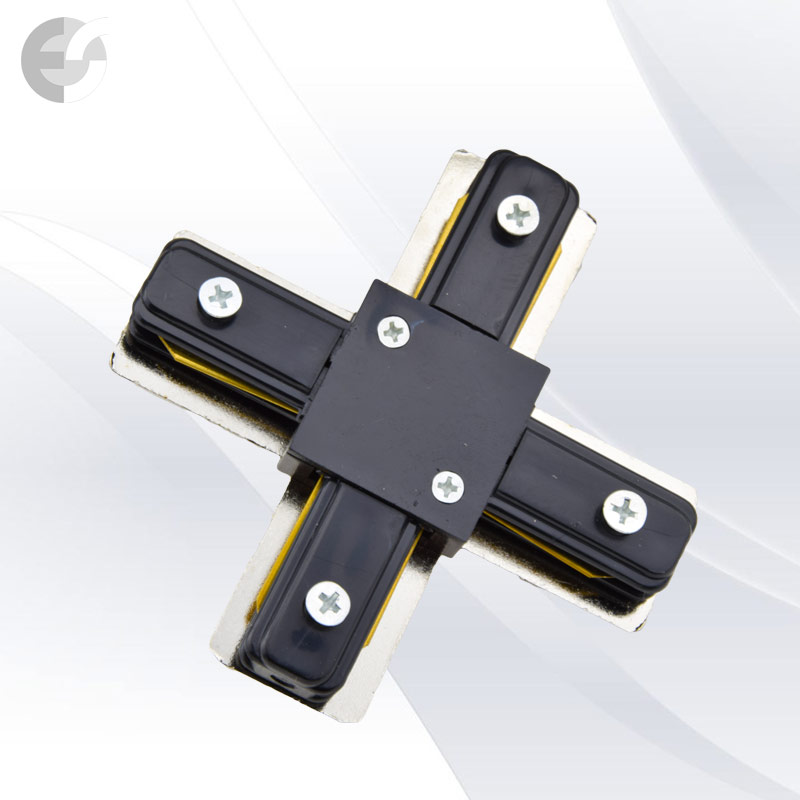 Съединител X за 2- линейна шина(2LX-BK)