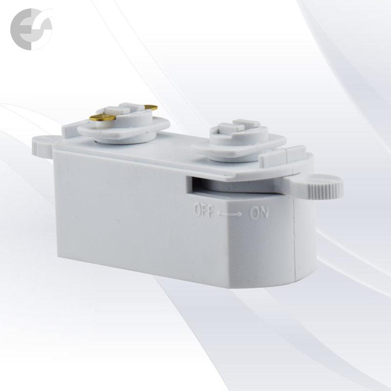 Mini адаптор за 2-линейна шина бяла От Електро Стил ООД