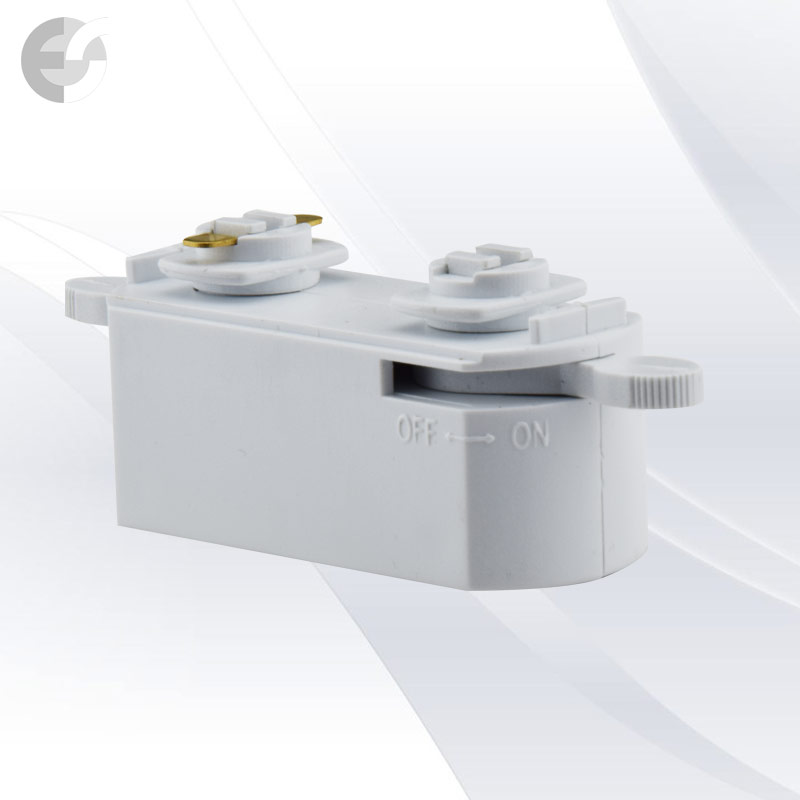 Съединител mini 2-линейна шина(2LC201-WH)