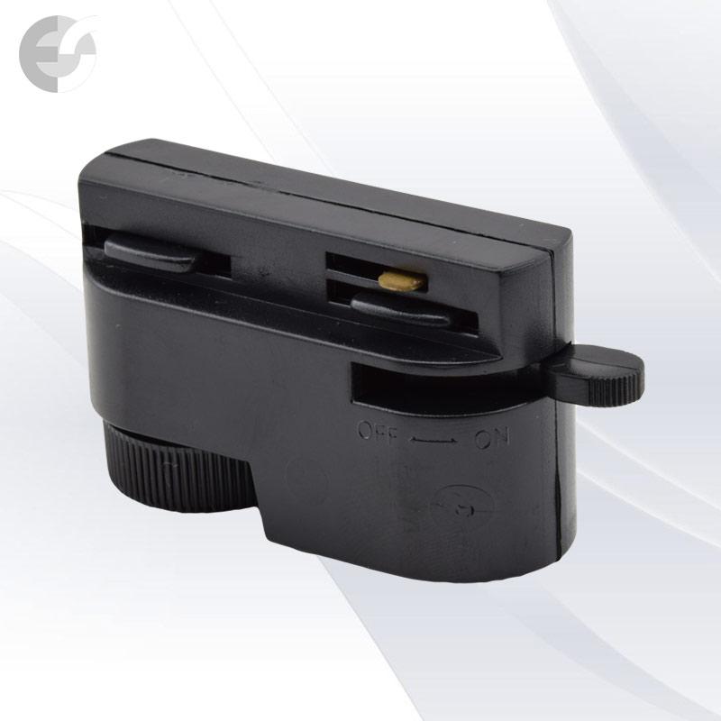 Адаптор за 2-линейна шина черен От Електро Стил ООД