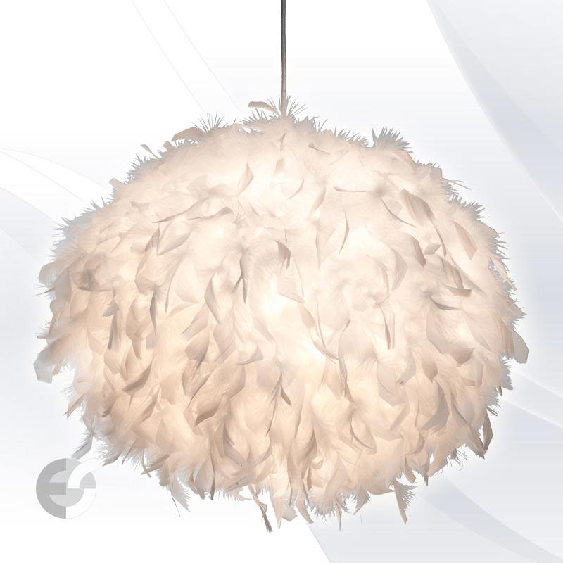 Полилей DUCKY с бели пера
