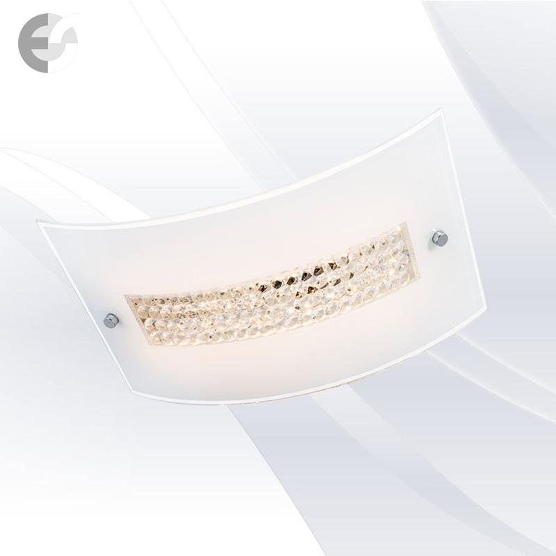 Елегантен плафон - GLOSSY с кристали