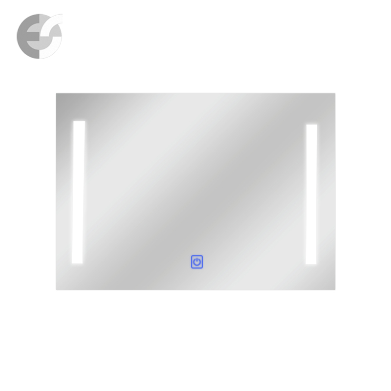 Oglinda LED IP 44 cu butonul TOUCH pentru pornire si oprit.