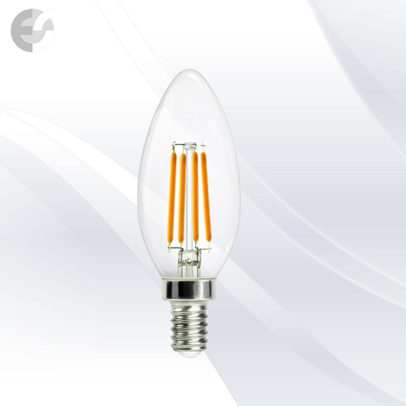 LED крушка 4W E14 3000K 380lm(KW-LC35-4W)