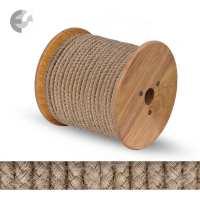 Текстилен кабел коноп кръгъл 2 x 0.75 mm2 От Електро Стил ООД