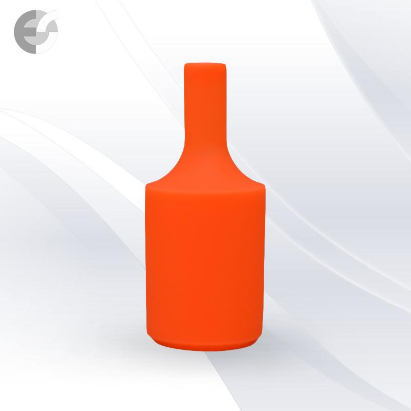Силиконова декорация за фасунга FlexDown - оранжева От Електро Стил ООД