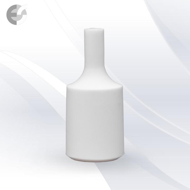 Силиконова декорация за фасунга FlexDown - бяла(0712WH)