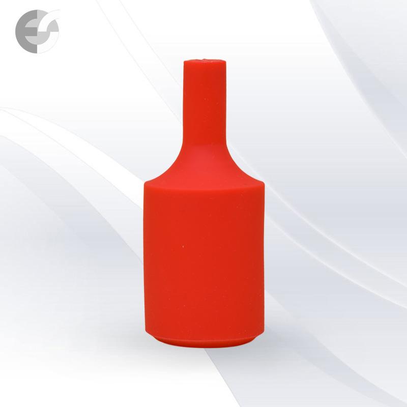 Силиконова декорация за фасунга FlexDown - червена От Електро Стил ООД