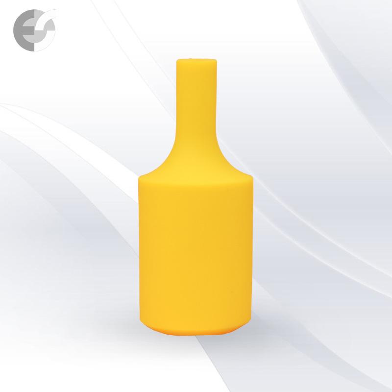 Силиконова декорация за фасунга FlexDown - жълта От Електро Стил ООД