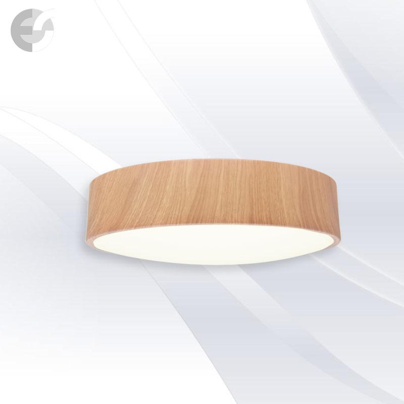 Plafoniera cu LED DISK, 40 cm DISK40SA9-24WOAK