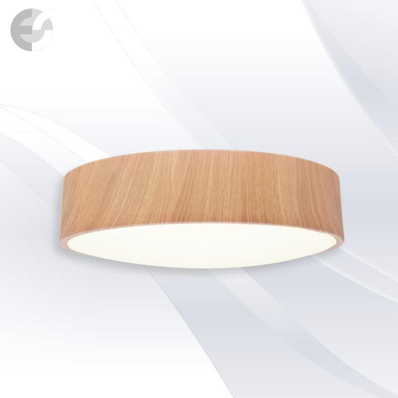 Plafoniera cu LED DISK, 50 cm DISK50SA9-4E27OAK
