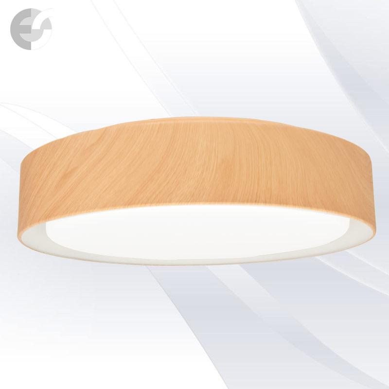Plafoniera cu LED DISK, 47 cm DISK47SC10-24WOAK