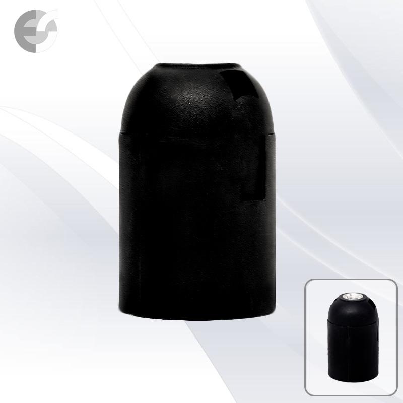 Фасунга черна Е27 права От Електро Стил ООД