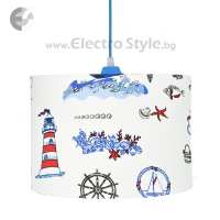 Полилей - детски лампи RED ANCHOR От Електро Стил