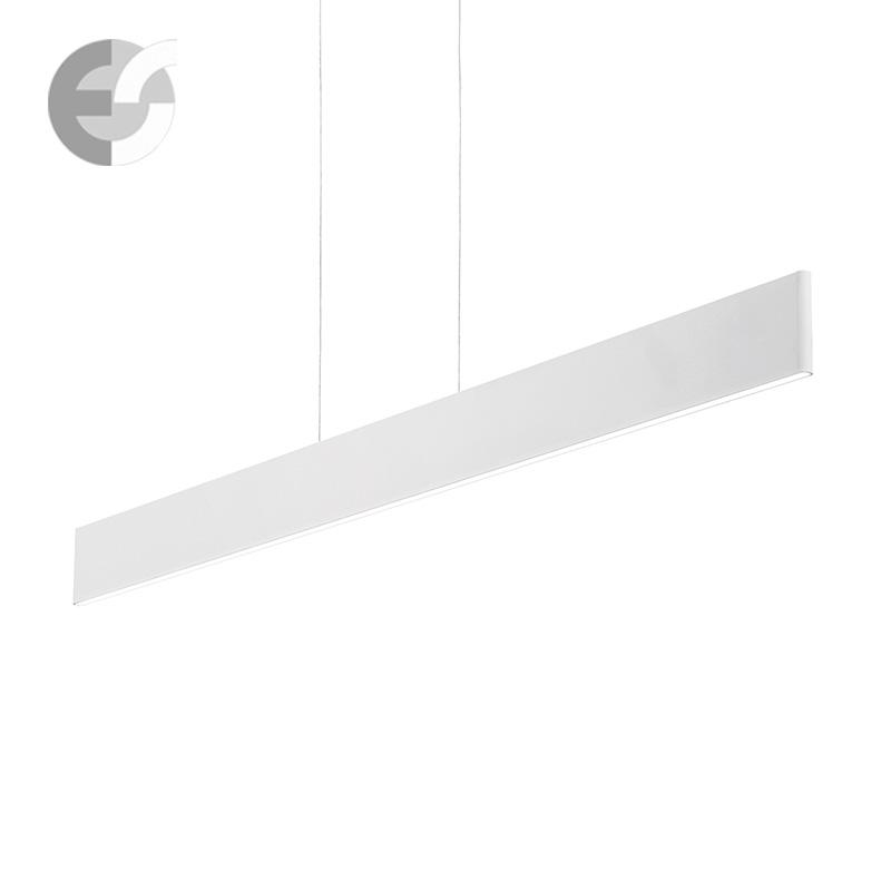 Офис осветление LED - Полилей DESK с LED модул в бяло От Електро Стил ООД