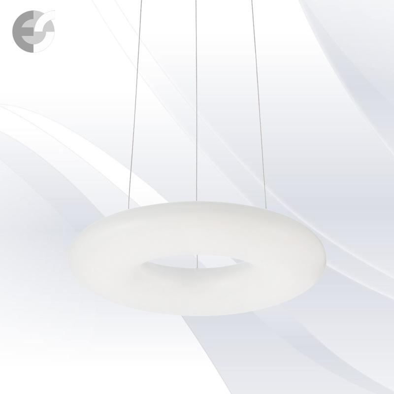 Осветително тяло за кухня - LED Полилей POLO в бяло | D: 30 см От Електро Стил ООД