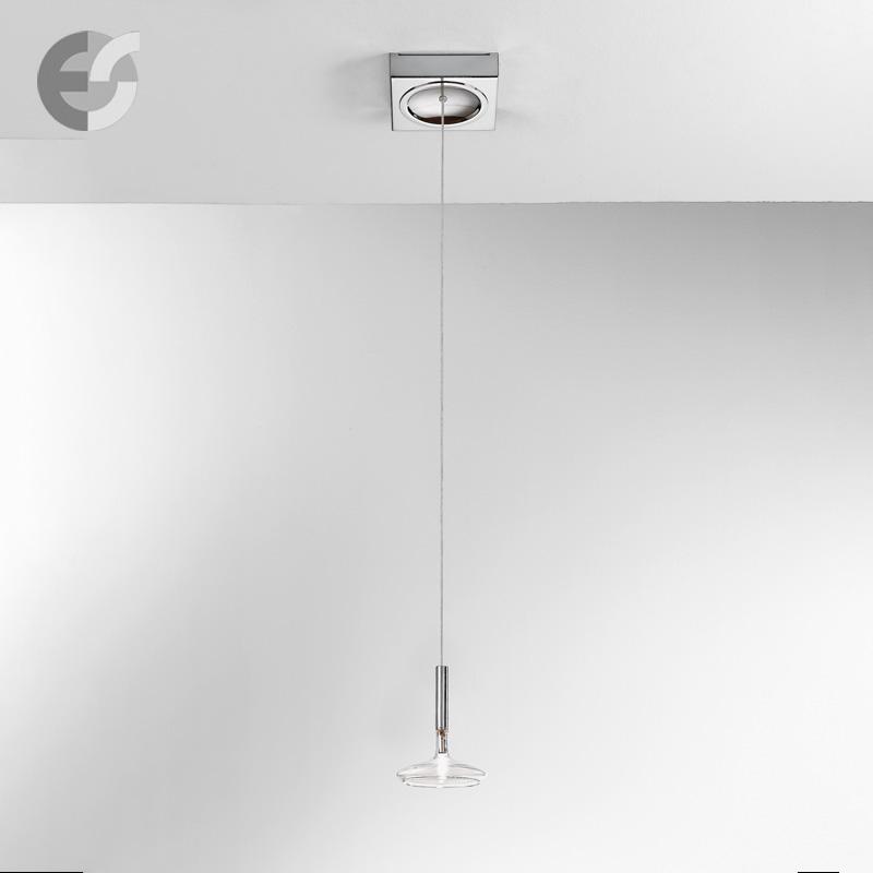 Осветително тяло - Полилей CAPRICCIO, метал, стъкло, прозрачно, хром, 12V, 20W