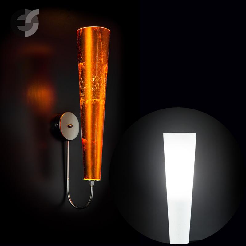 Осветително тяло - елегантен плафон с извити рамена FREE SPIRIT, хром(140.308)