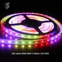 5060/30/7.2/RGB/12 - Banda LED RGB 12V SMD 5060 7.2 W/m