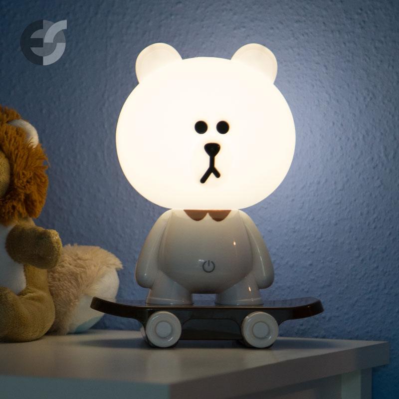Veioze LED pentru copii SKATE